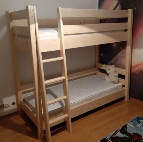 Легло на два етажа, масив чам