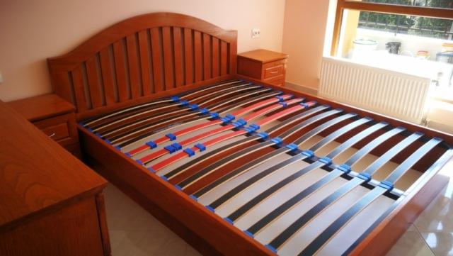 Масивна мебел за спалня - масив кестен - Модел Резона