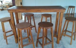 бар маси и столове