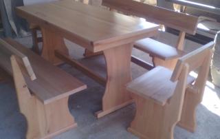 маса с пейки масивен бук