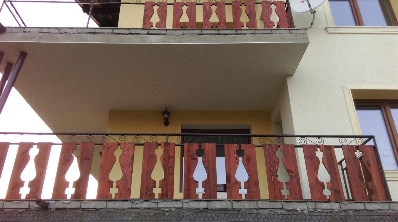 Дъски за парапет на тераса
