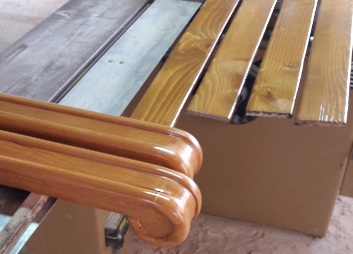 Елементи за дървен парапет