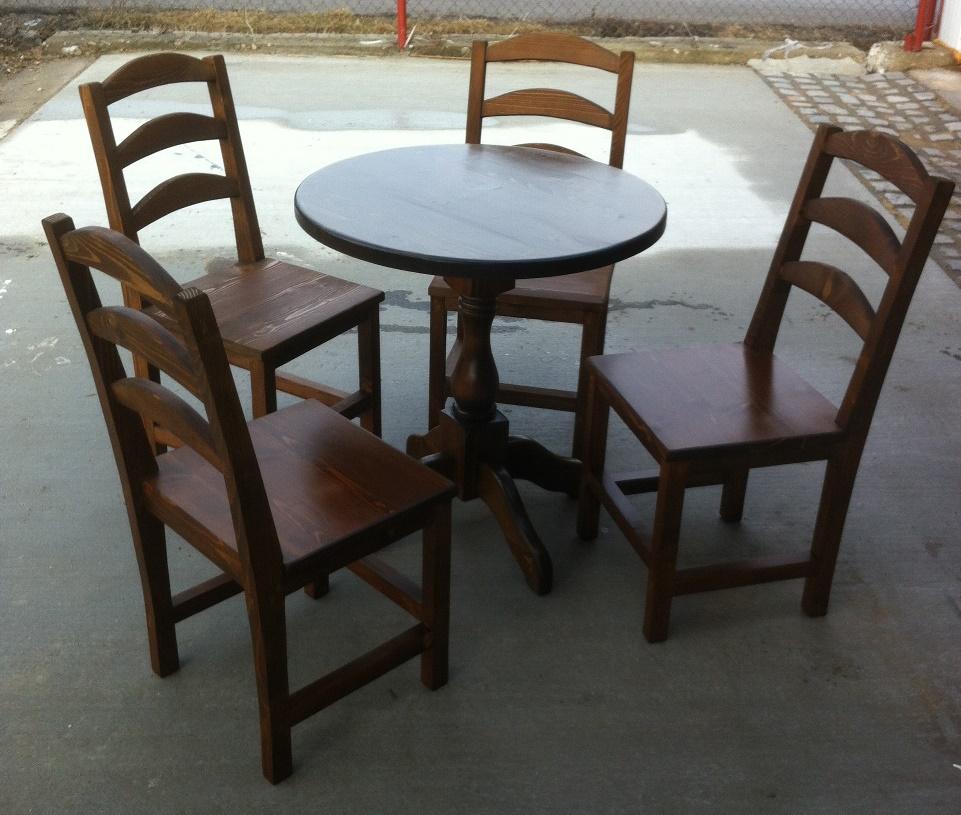 Маса със столове за трапезария