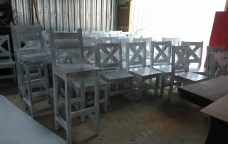 дървени столове по поръчка