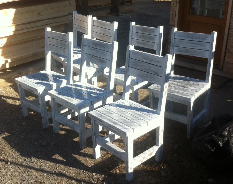 Столове за градина