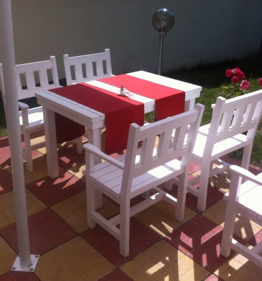 Маси и столове за открито заведение