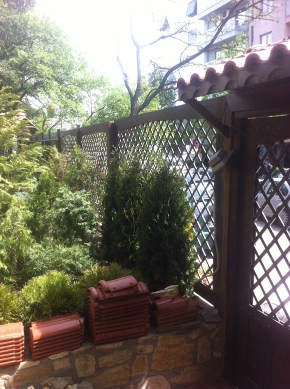 Ограда на заведение
