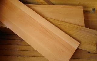 Видове материали за стъпала, бук и дъб