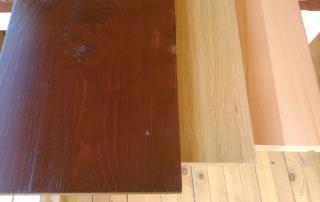 Дървени стъпала, чам, дъб, бук
